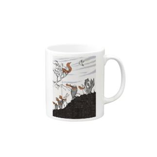 いきものマフラー Mugs