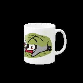 るりんごむのかしわもちぺんぎん Mugs