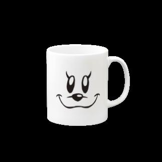 クッキーパーク・スズリショップのマグカップに擬態するクッキー Mugs