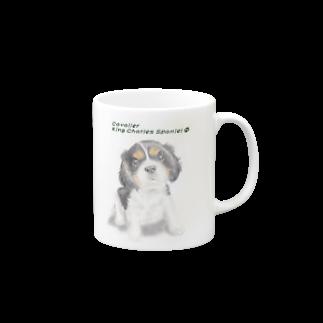 Mofrismのキャバリア(トライカラー) Mugs