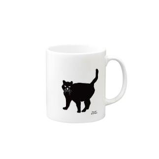 黒猫 / Black Cat  Mugs