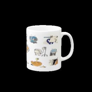敷島の4日に1度熱が出るマグカップ Mugs