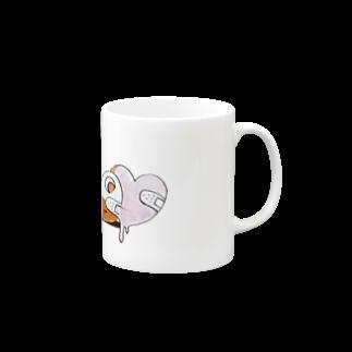 敷島のハッピーメンヘライフ はっきり色味ver マグカップ