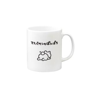 マエバサンのぽんぽち Mugs