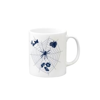 蜘蛛 マグカップ