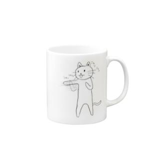 ボクサー猫 Mugs
