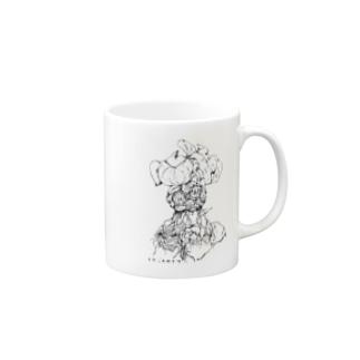 elephantipes(亀甲竜) ボタニカルアート(植物) Mugs