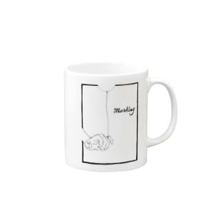 Marking -風船- Mugs