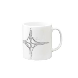 ハーフタービン型インターチェンジ Mugs