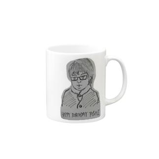 HAPPY BIRTHDAY TOSHI Mugs