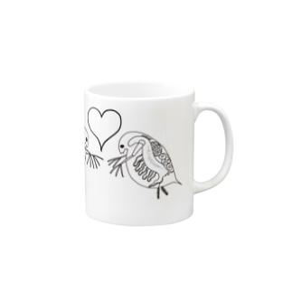 恋するミジンコ Mugs