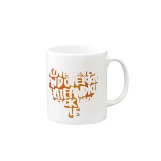 えいごのはーと Mugs