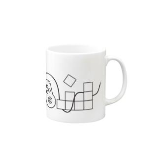Moon&Game simple Mugs