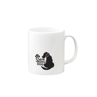 SUN ROKU DOG Mugs