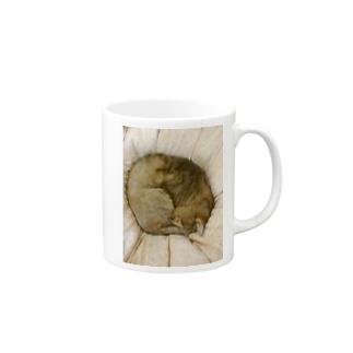 家の猫アンモナイト型 Mugs