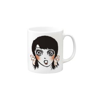 驚きちゃん Mugs