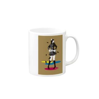「オータムガール。」 Mugs