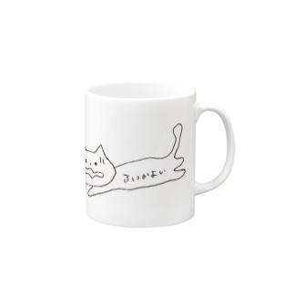 ふつかよい猫 Mugs