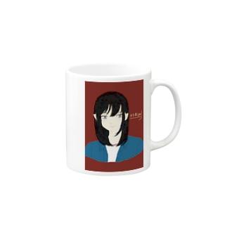 カラ松girl コップ Mugs