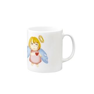 やさしい天使 Mugs