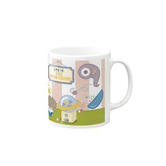 GACHA GACHA. by Esnes Nommoc Mugs