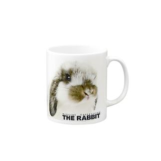 THE RABBIT 2 Mugs