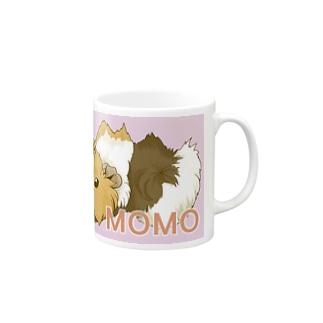 MOMOちゃん マグカップ