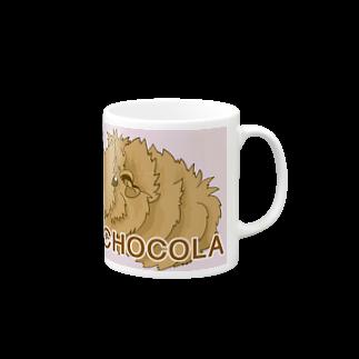 LichtmuhleのCHOCOLAちゃん マグカップ