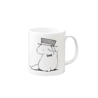 Mr.ハット Mugs