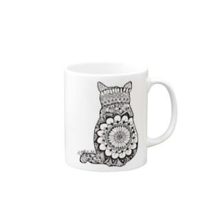 CIRCLECAT09 Mugs