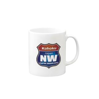 NWロードサイン Mugs