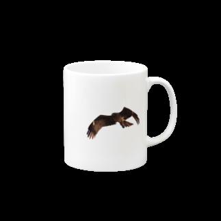 56(ゴロー)のトンビ Mugs