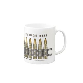 CARTRIDGE BELT(弾帯) Mugs