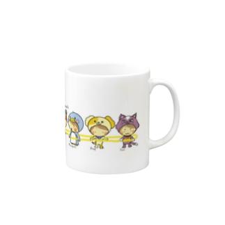 densya gokko animals Mugs