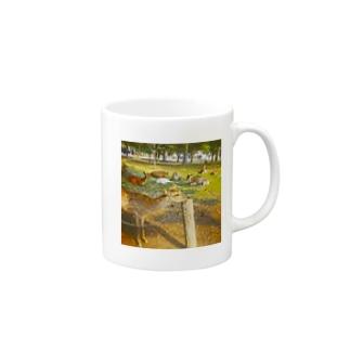 あごのせ奈良の鹿 Mugs