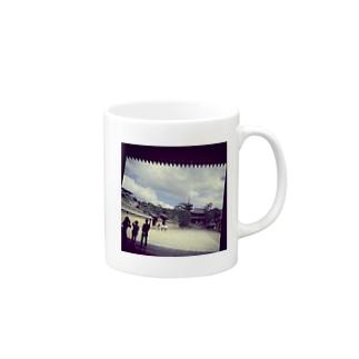 世界遺産「法隆寺」 Mugs