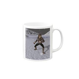 吹雪く戦闘 Mugs