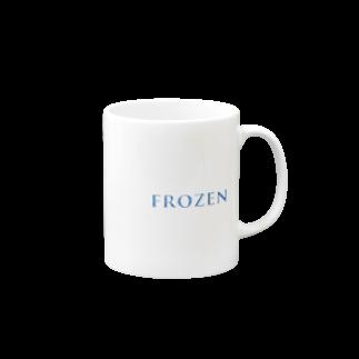 RIP_STOREのフローズン Mugs