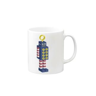 ロボット No.2 Mugs
