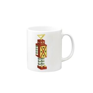 ロボット No.3 Mugs