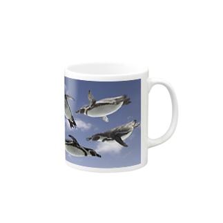 空飛ぶペンギン Mugs