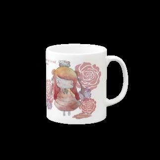 happy lifeの【yamikawaii系女子】ピンクちゃん(仮) Mugs