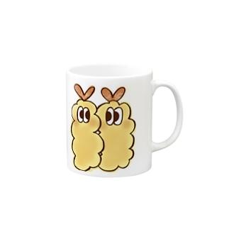 にじいろ☆うしゃぎのOSOZAI!!-オソーザイ!!-(エビ白) Mugs