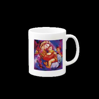 ローズキャットの聖母子像 Mugs