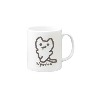 Nyacha(にゃーちゃ、) Mugs