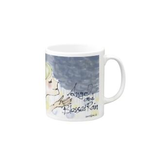 Ang8 エンジェルと恵みの雨 Mugs