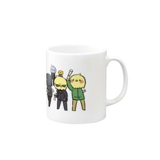 タマゴガイチバンマシダナア Mugs