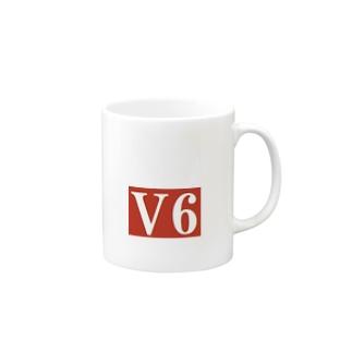 V6  グッズ (ヴイロク) Mugs
