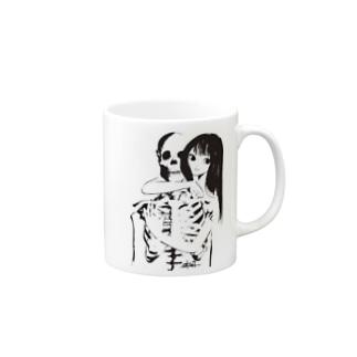 骨の髄まで愛してる Mugs