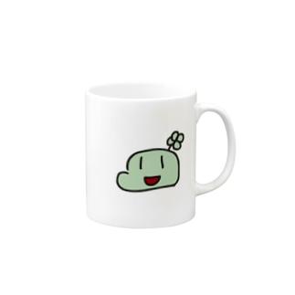 大きなローゴ Mugs